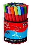 Berol papermate Colour Broad Fibre Tipped Pen - Assorted Colours, Pack of 42